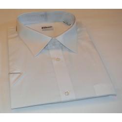 košile kr. rukáv bílá