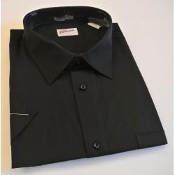 košile kr. rukáv černá
